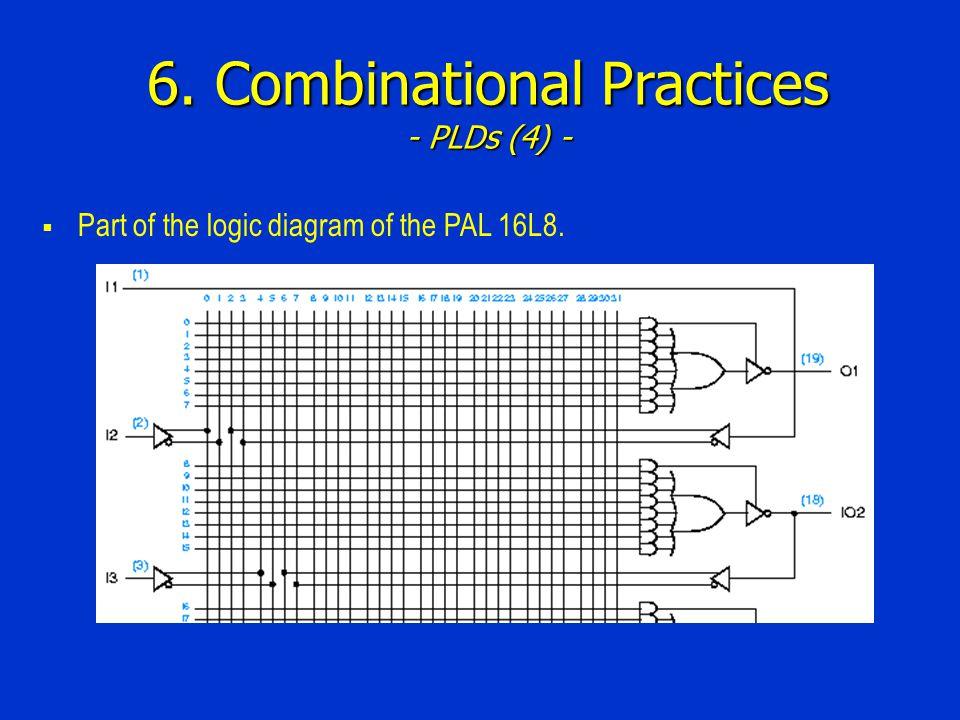6. Combinational Practices - PLDs (4) -
