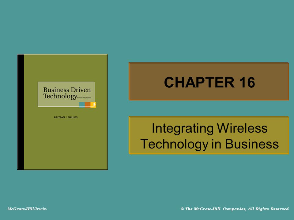 Integrating Wireless Technology in Business