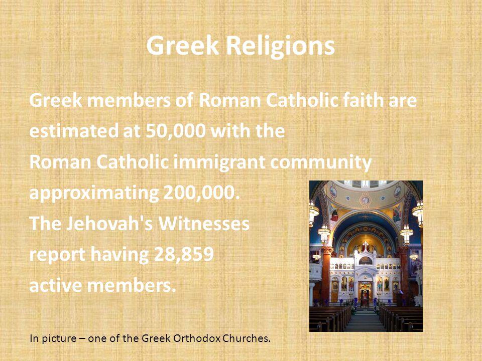 Greek Religions