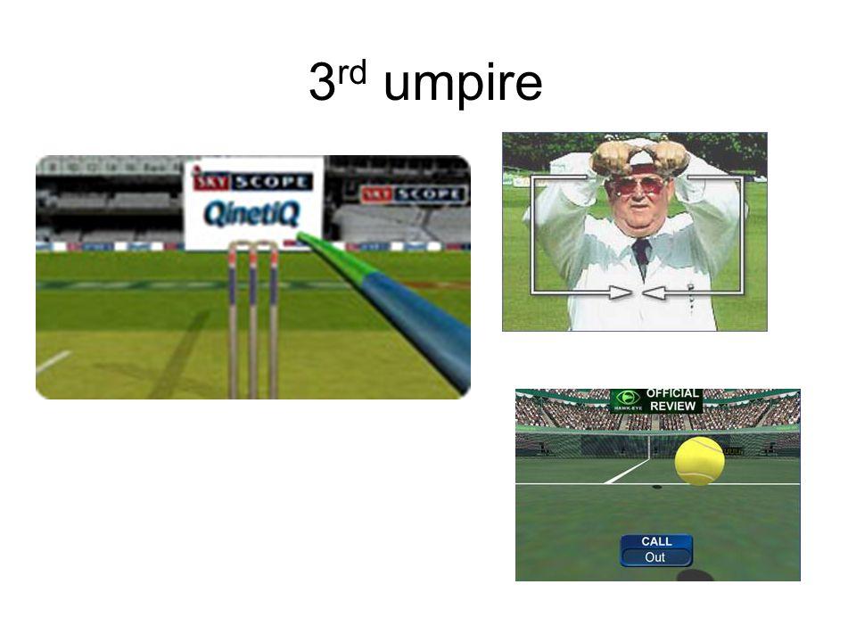 3rd umpire