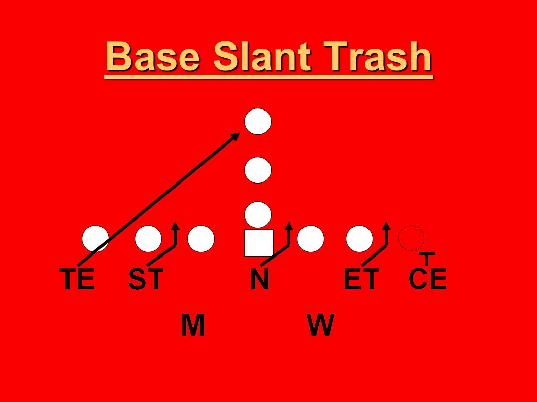 Base Slant Trash