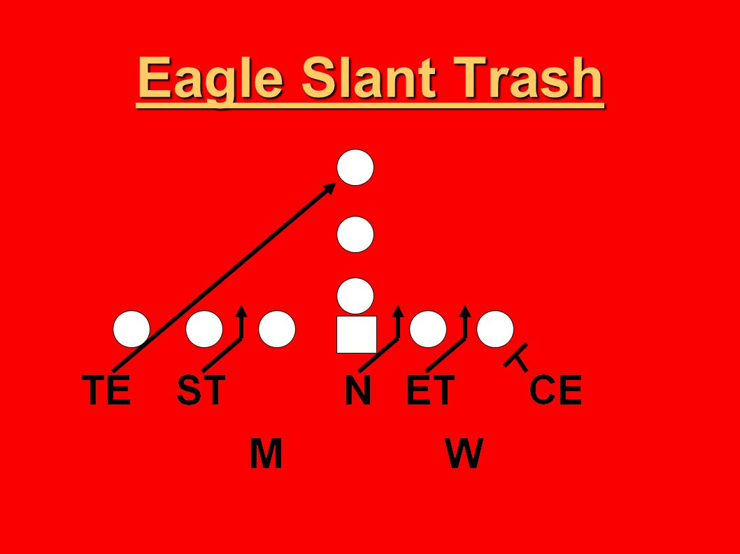 Eagle Slant Trash