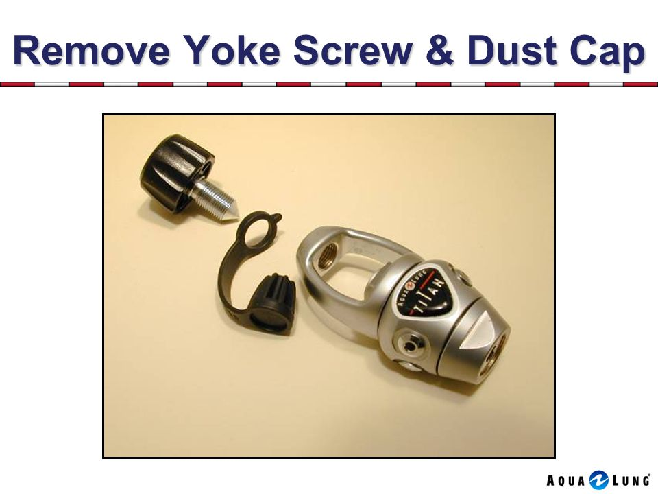 Remove Yoke Screw & Dust Cap