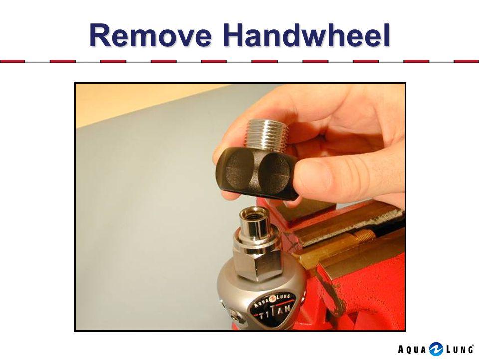 Remove Handwheel