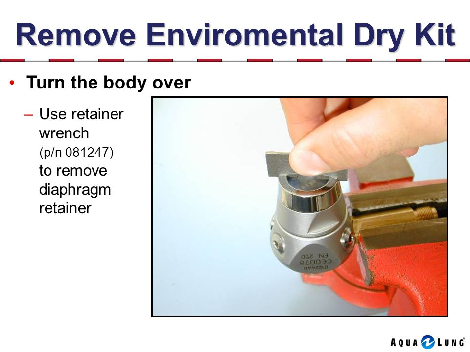 Remove Enviromental Dry Kit