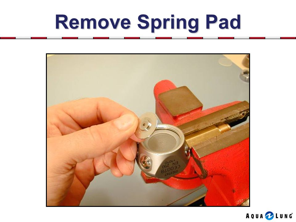 Remove Spring Pad