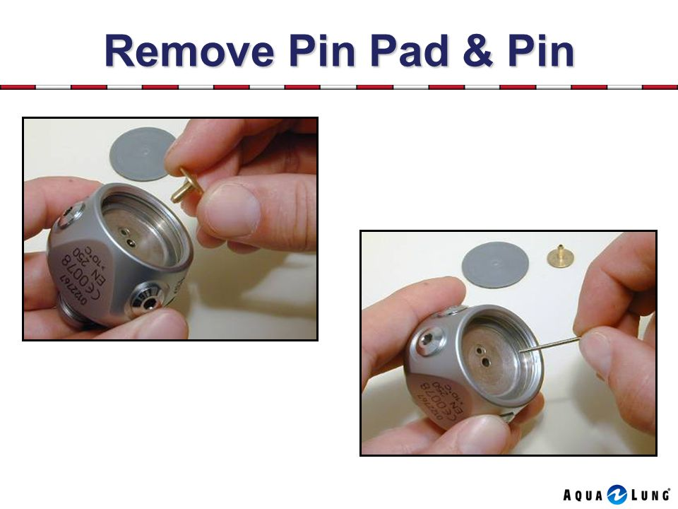 Remove Pin Pad & Pin
