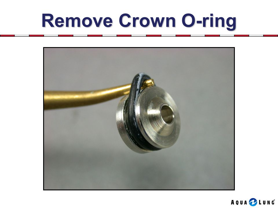 Remove Crown O-ring