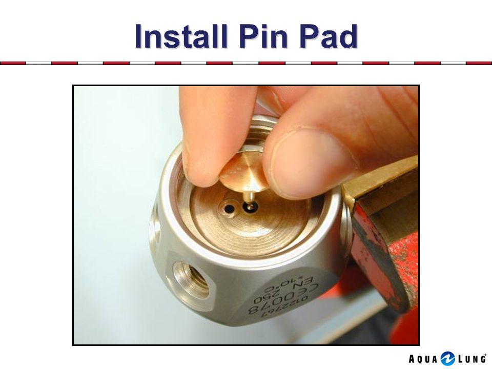Install Pin Pad