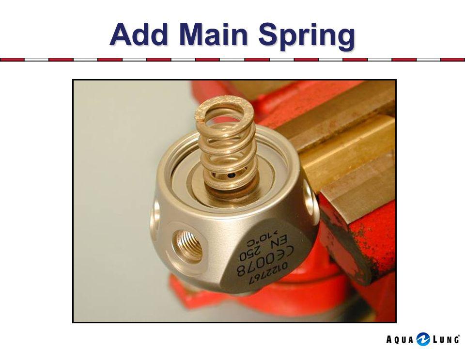 Add Main Spring