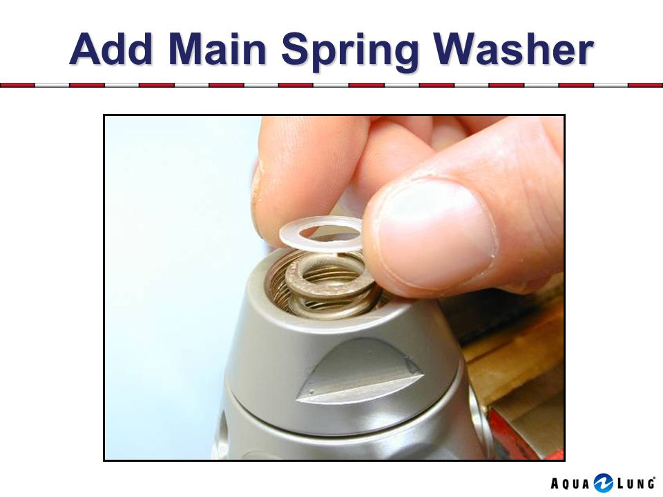 Add Main Spring Washer