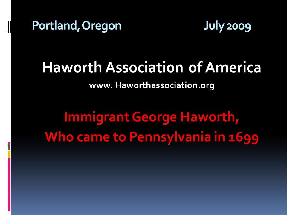 Haworth Association of America