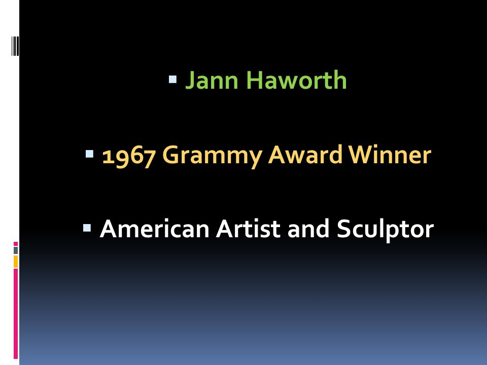 American Artist and Sculptor