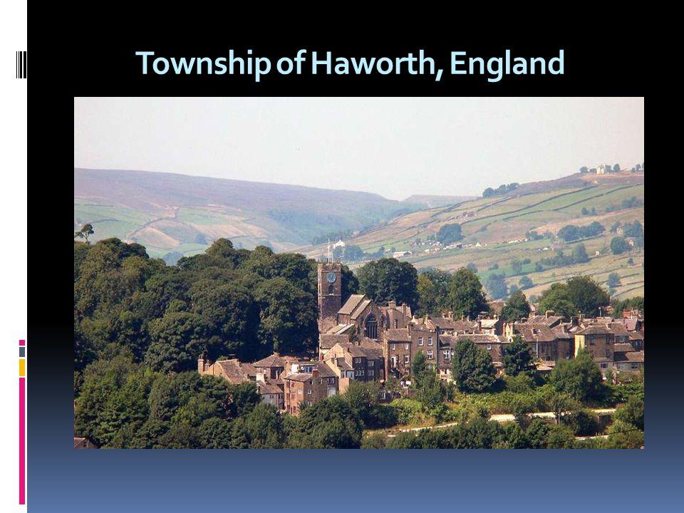 Township of Haworth, England
