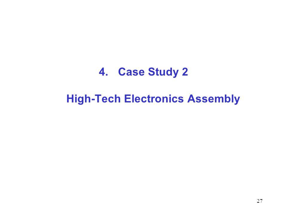 Case Study 2 High-Tech Electronics Assembly