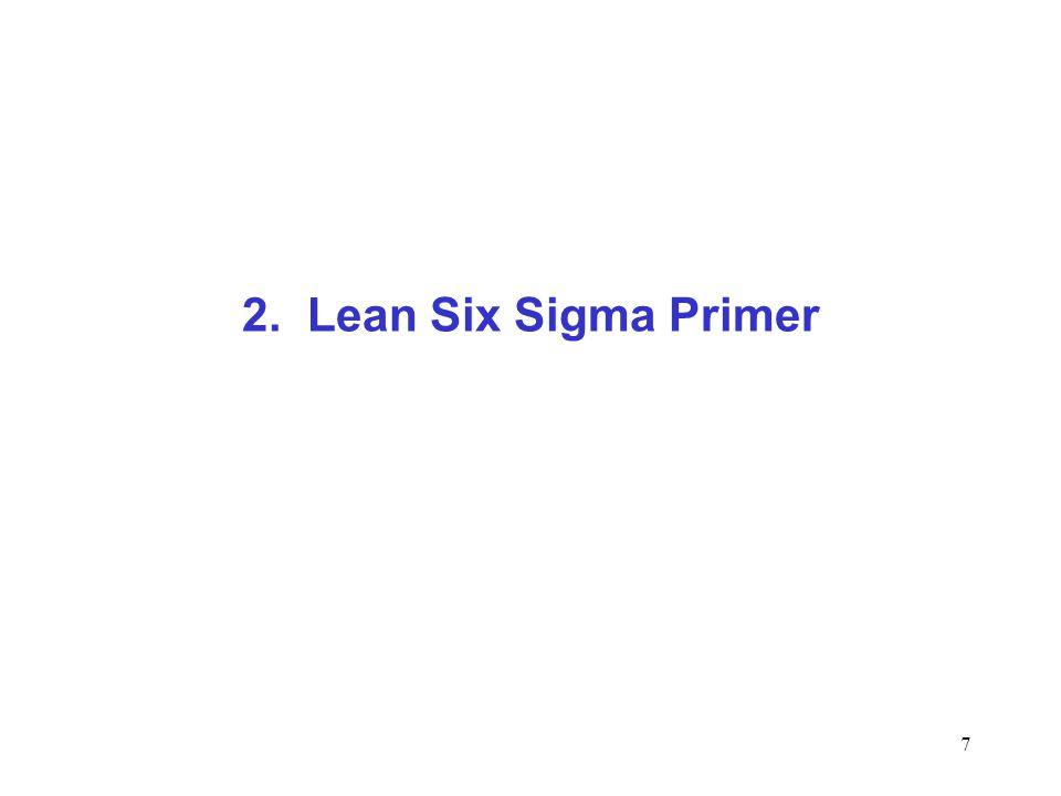 2. Lean Six Sigma Primer
