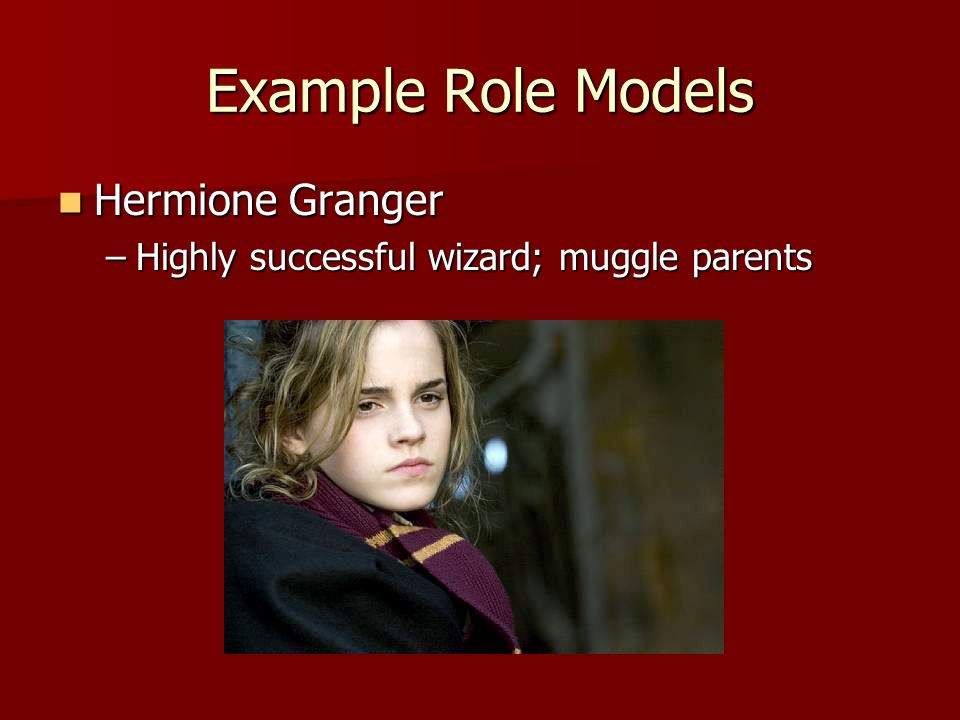 Example Role Models Hermione Granger