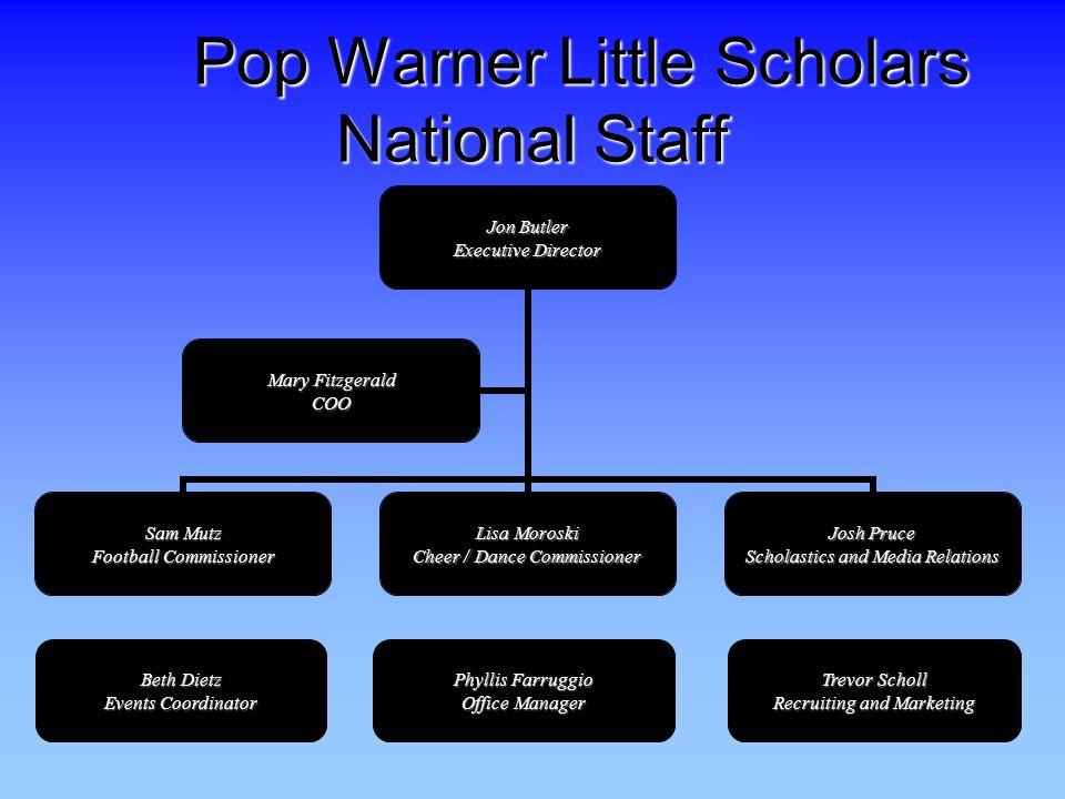 Pop Warner Little Scholars National Staff