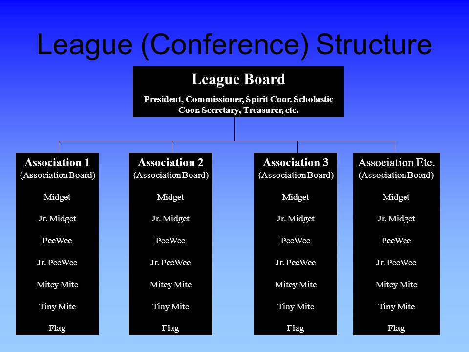League (Conference) Structure