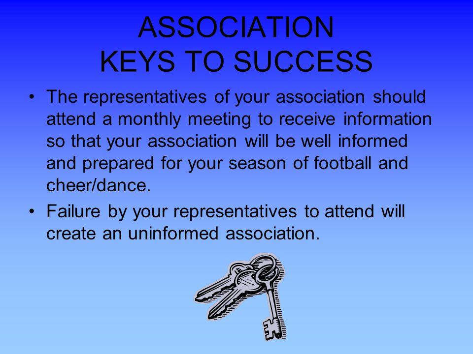 ASSOCIATION KEYS TO SUCCESS