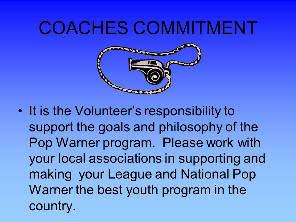 COACHES COMMITMENT