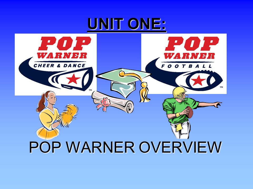 UNIT ONE: Introductory Slide to Unit One POP WARNER OVERVIEW