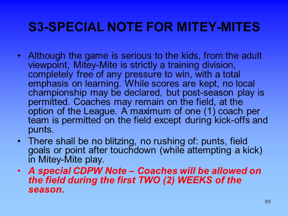 S3-SPECIAL NOTE FOR MITEY-MITES