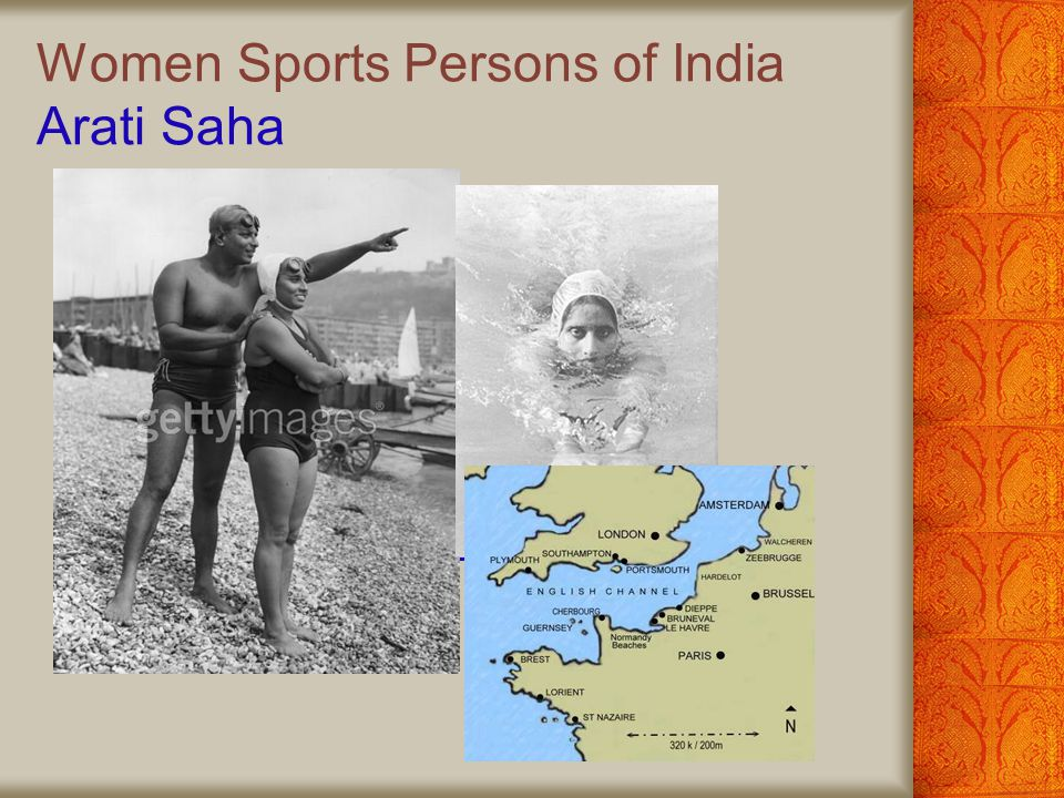 Women Sports Persons of India Arati Saha