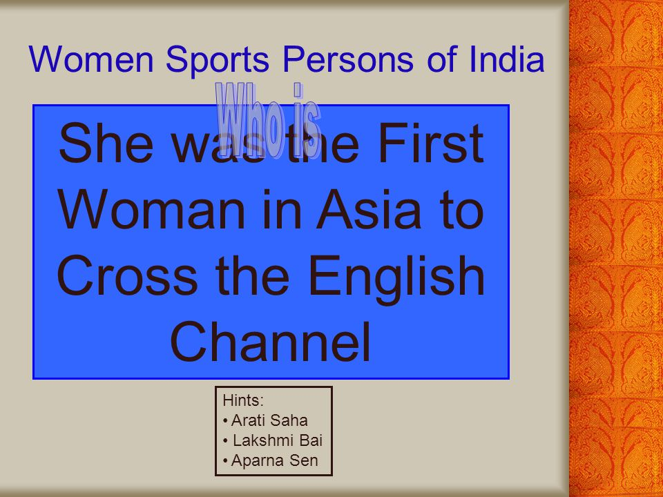 She was the First Woman in Asia to Cross the English Channel
