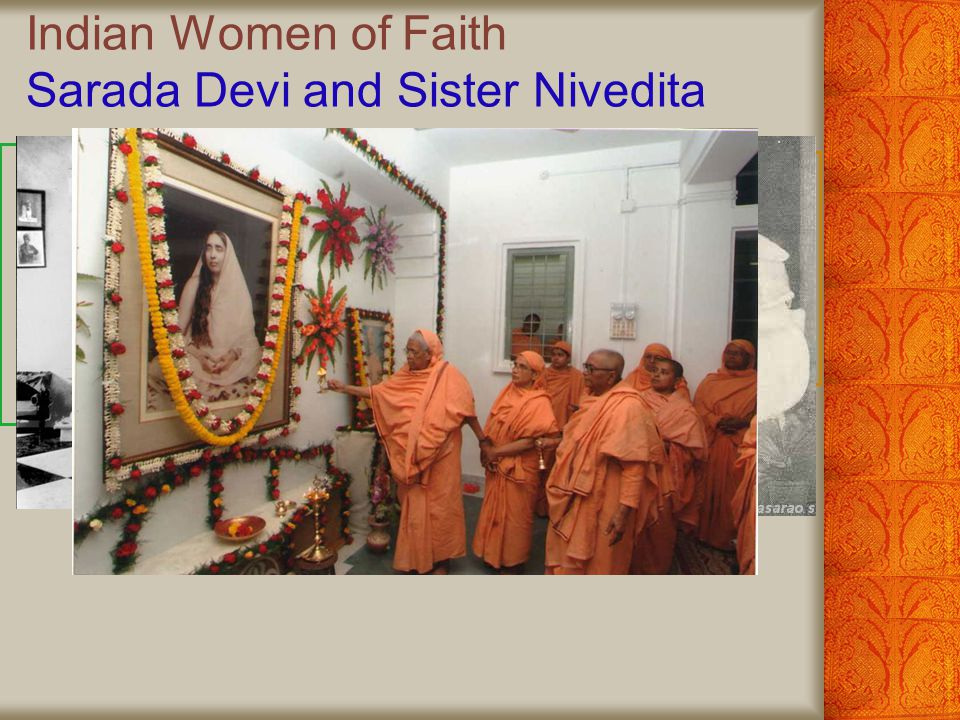 Indian Women of Faith Sarada Devi and Sister Nivedita