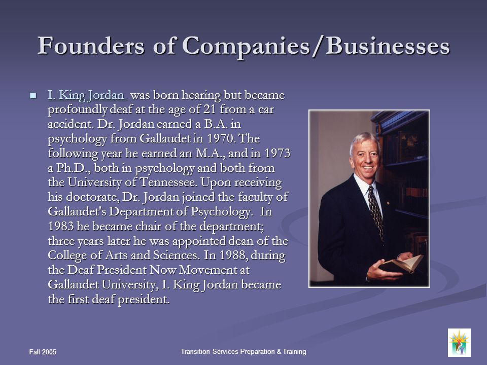 Founders of Companies/Businesses