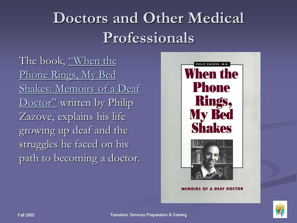Doctors and Other Medical Professionals