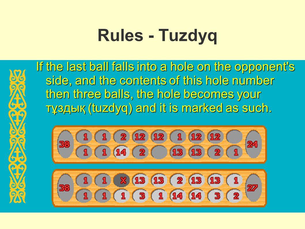 Rules - Tuzdyq