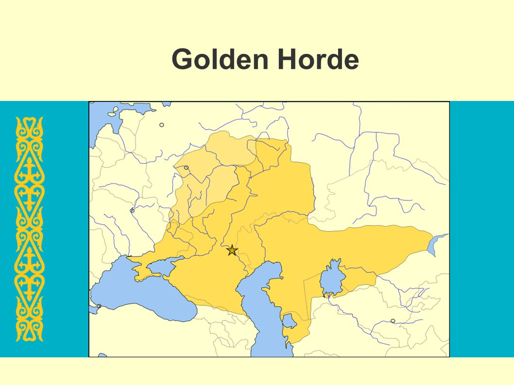 Golden Horde I really didn t know: