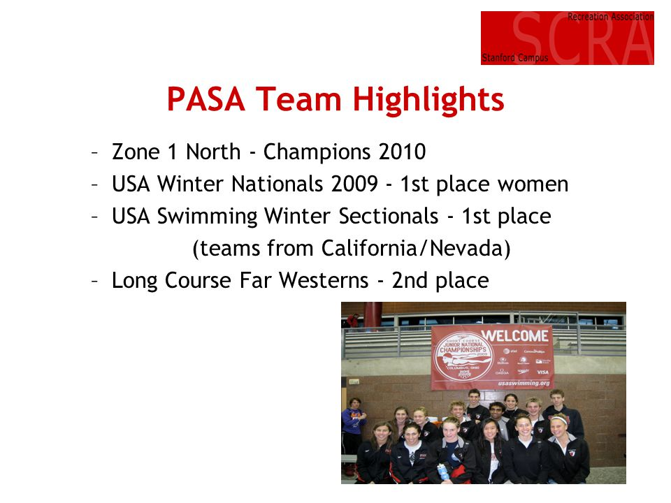 PASA Team Highlights Zone 1 North - Champions 2010