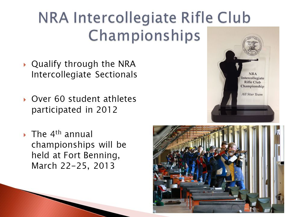 NRA Intercollegiate Rifle Club Championships