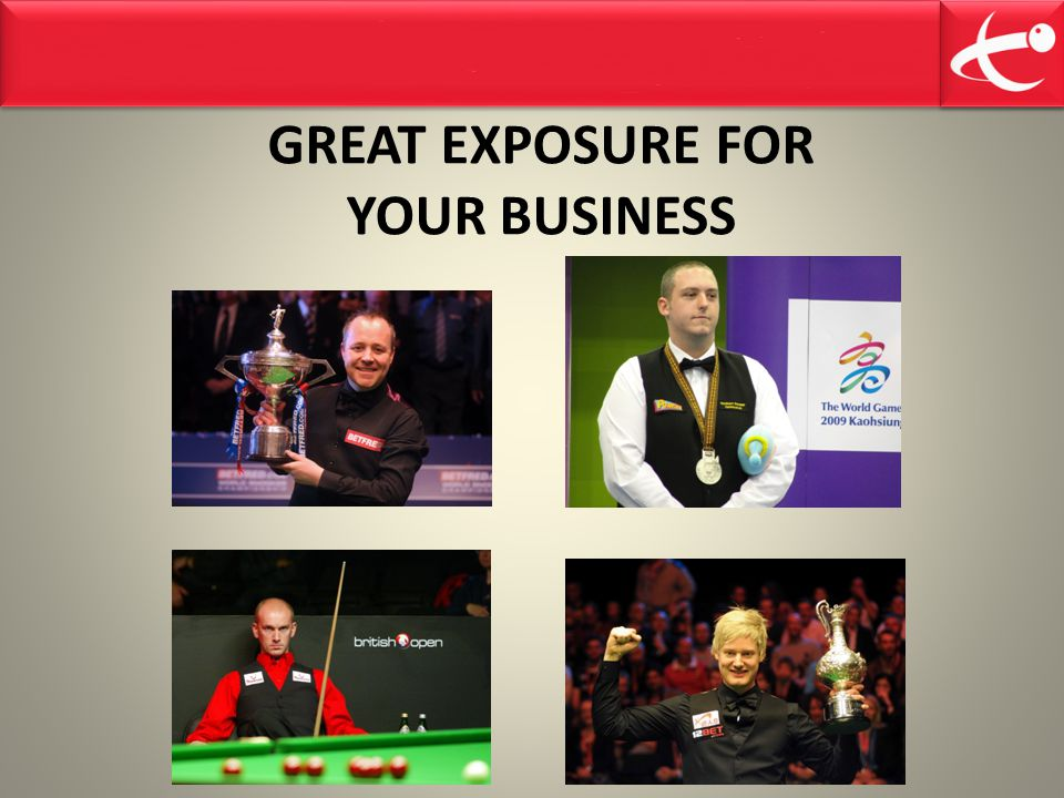GREAT EXPOSURE FOR YOUR BUSINESS