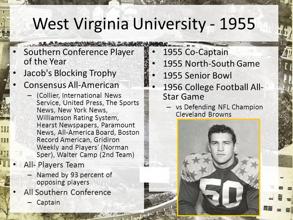 West Virginia University - 1955