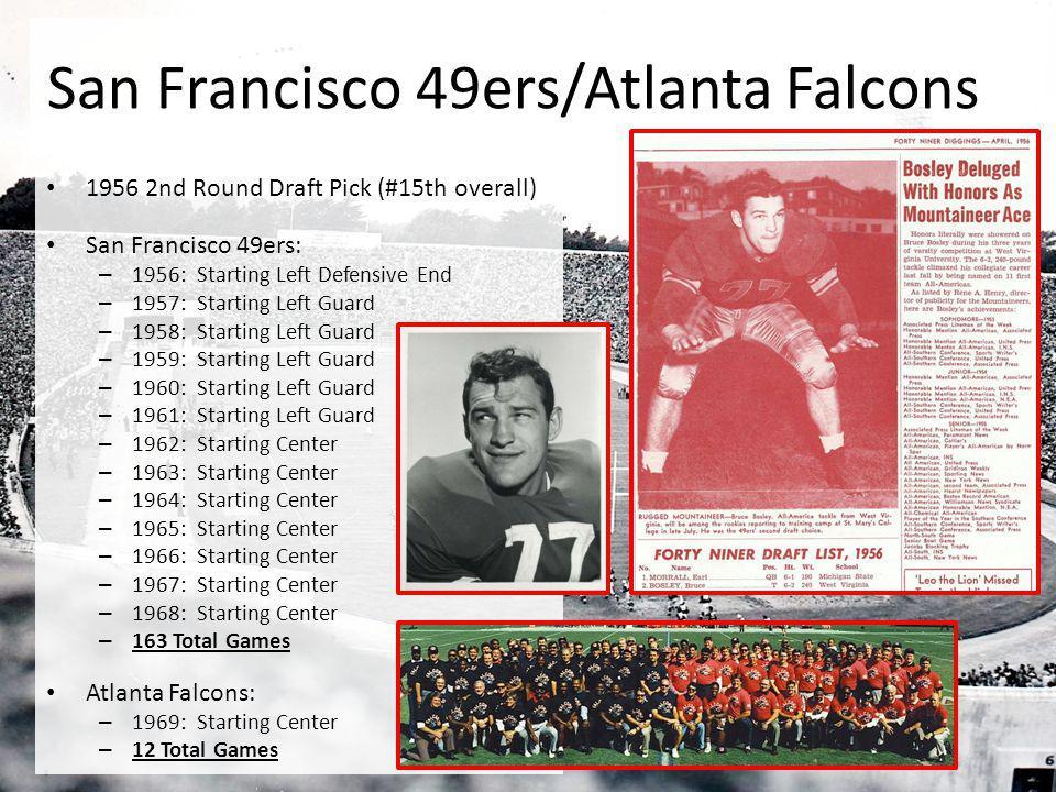 San Francisco 49ers/Atlanta Falcons