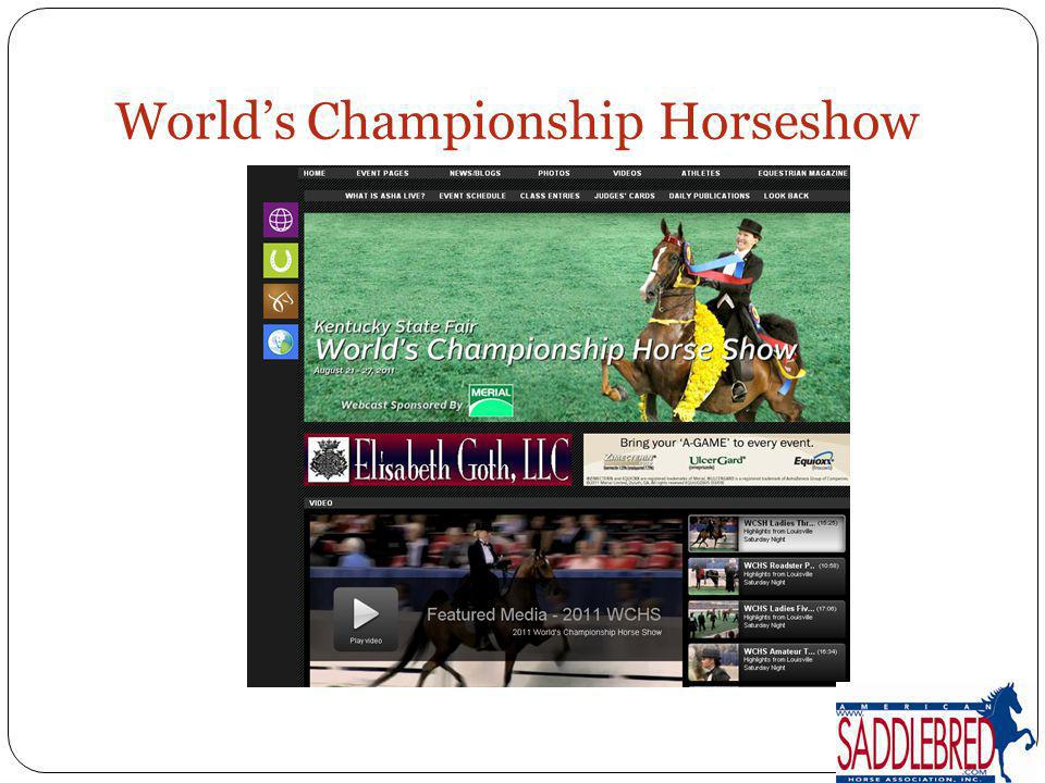 World's Championship Horseshow