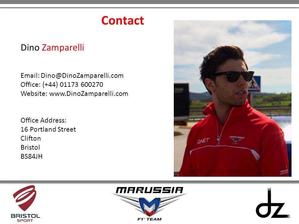 Contact Dino Zamparelli