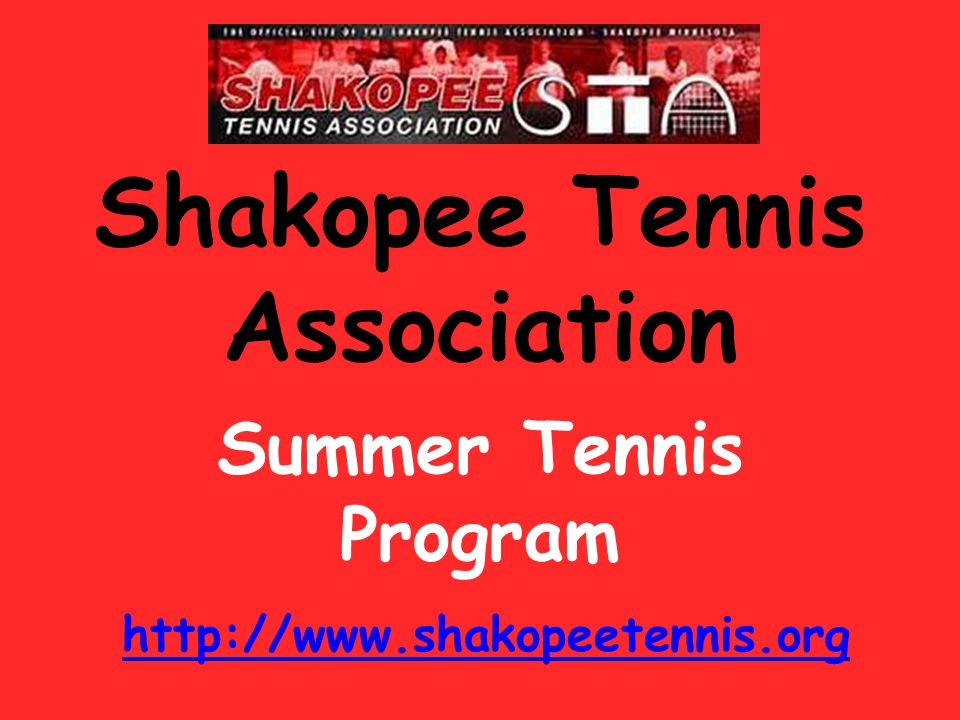 Shakopee Tennis Association