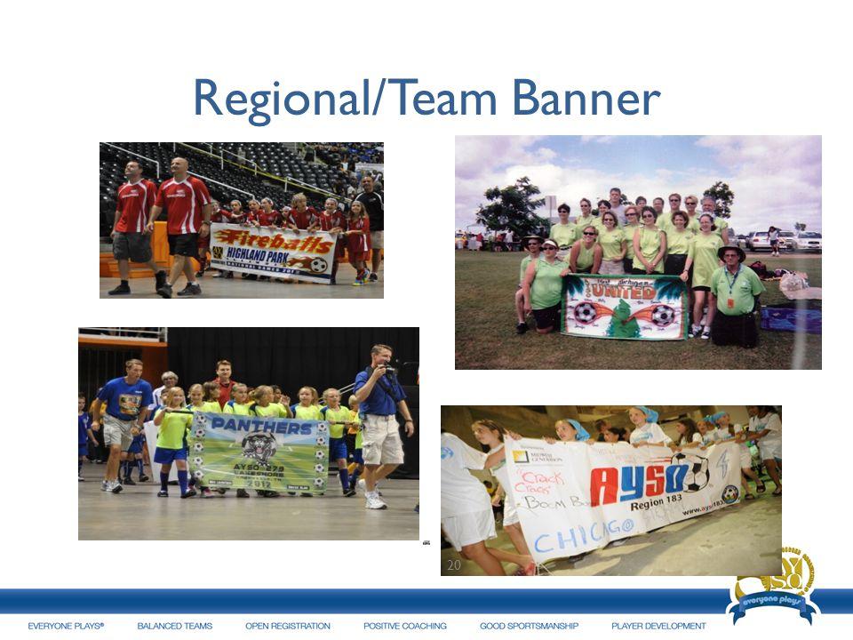 Regional/Team Banner