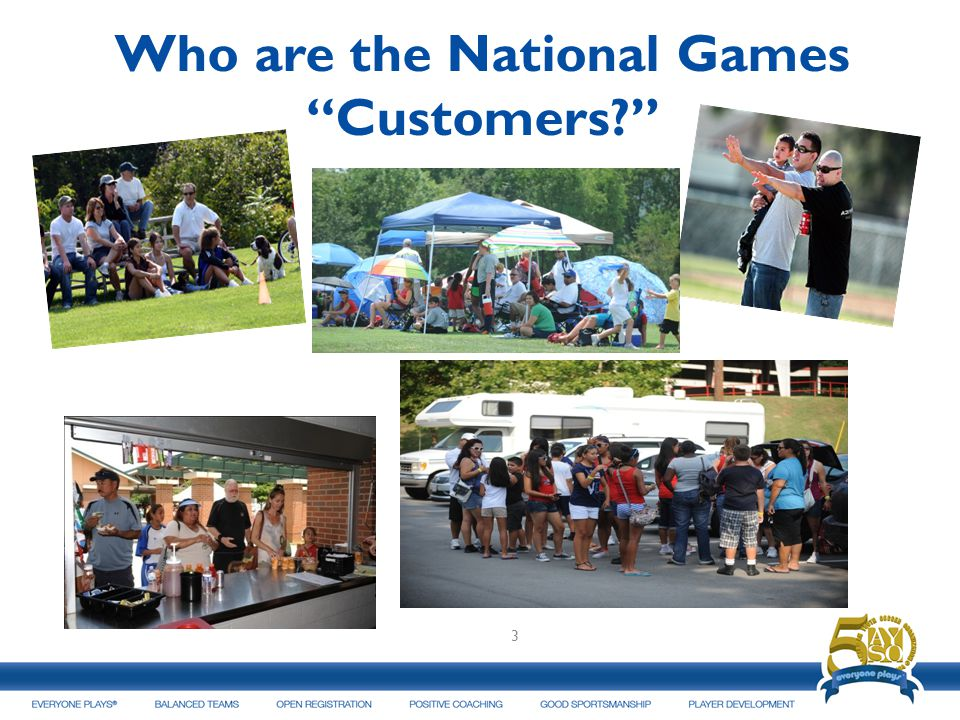 Who are the National Games Customers