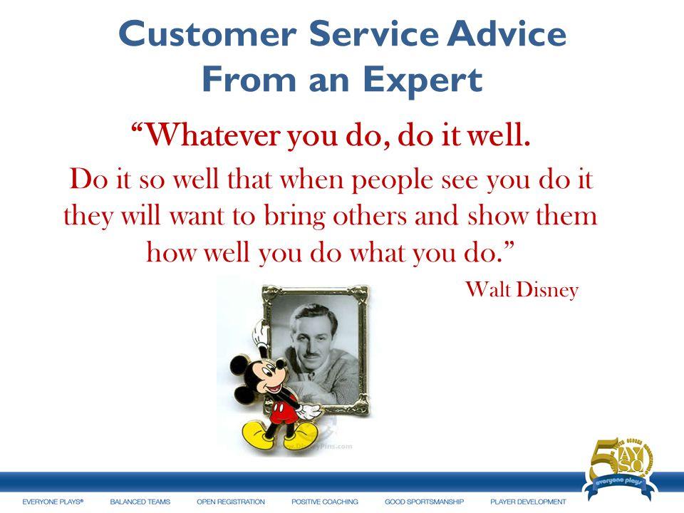 Customer Service Advice From an Expert