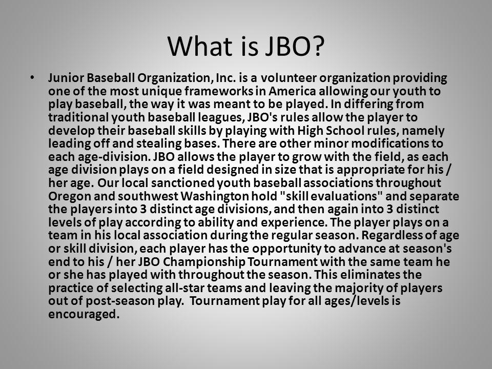 What is JBO