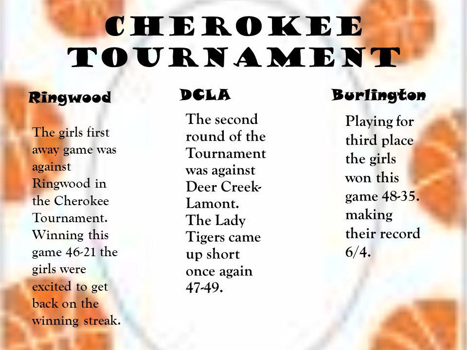 Cherokee Tournament DCLA Burlington Ringwood