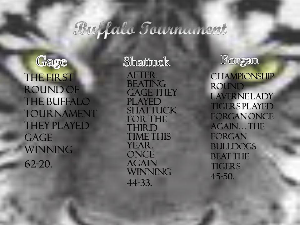 Buffalo Tournament Gage Shattuck Forgan