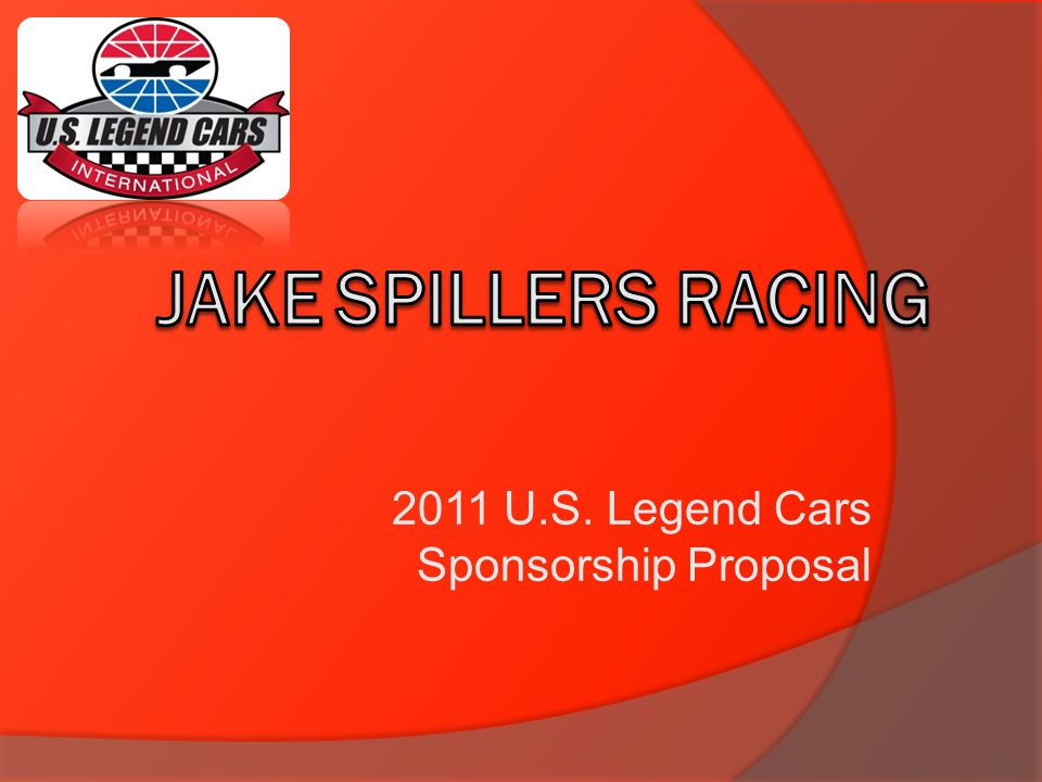 2011 U.S. Legend Cars Sponsorship Proposal