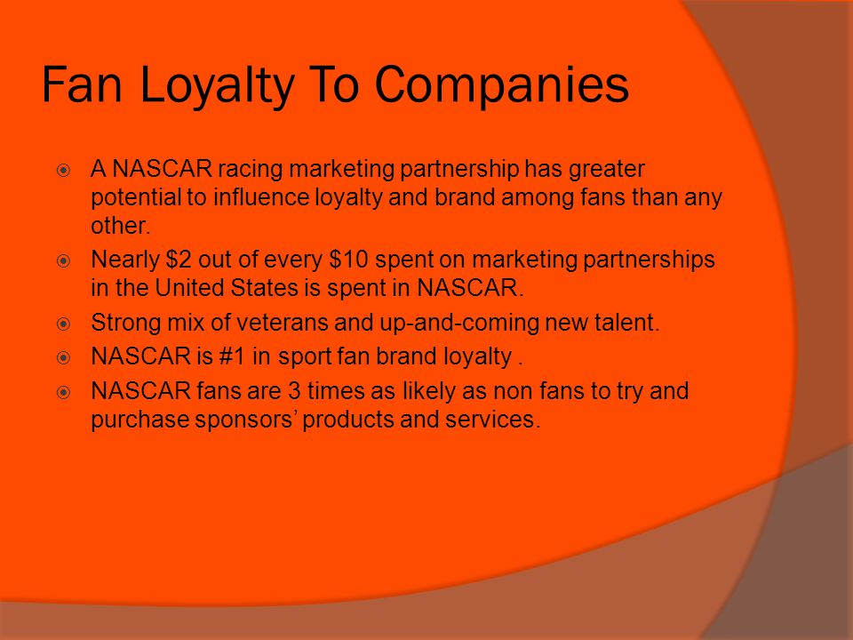 Fan Loyalty To Companies